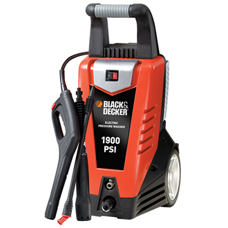 BLACK & DECKER Pressure Washer 1900 PSI @ 1.5 GPM, Electric