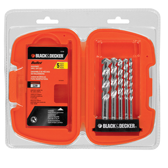 5-Piece Bullet® Speed Tip Masonry Drill Bit Set