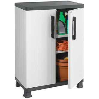 SpaceRite Series Wall and Base Cabinet