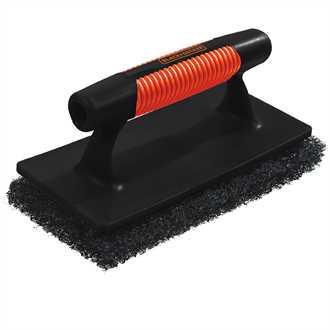 Heavy Duty Trowel Scrubber