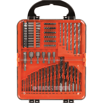 75-Pc. Drilling and Screwdriving Set