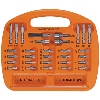 30-Piece SCREWDRIVING SET