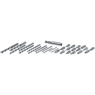 30-Pc. Drilling and Screwdriving Set