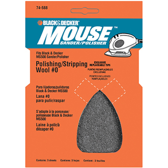 MOUSE® Polish/strip wool