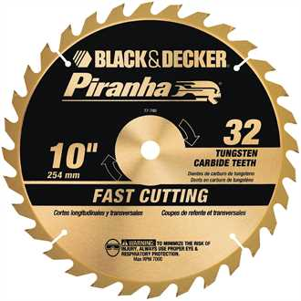 10 Piranha Carbide Plus 32T Blade