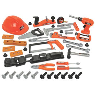 Black & Decker Junior Deluxe 42 Piece Tool Set