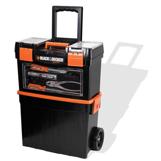 Black & Decker Junior Rolling Tool Case