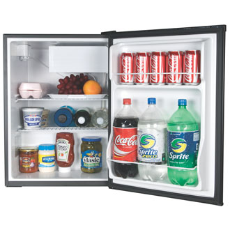 2.7 Cu. Ft. Refrigerator/Freezer (Black)