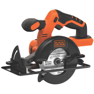 Black & Decker 20v Max Bare 5-1/2 Circular Saw