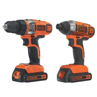 <p>20V MAX* Drill/Driver &amp; Impact Driver</p>