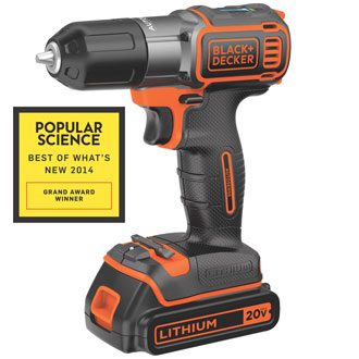 BDCDE120C <p>&nbsp;20V MAX* Lithium Drill/Driver with Autosense Technology</p>