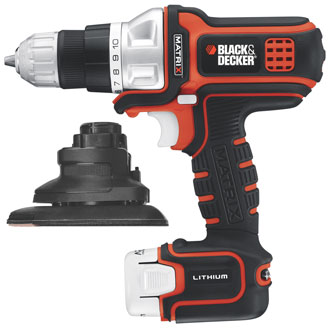 MATRIX 12V MAX* Lithium Drill/Driver & Sander Kit