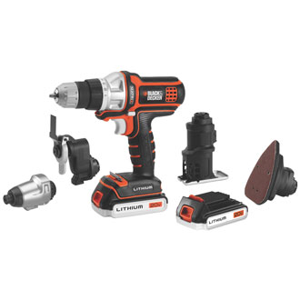 Black & Decker 20V MAX* Matrix Combo Kit