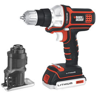 Black & Decker Matrix 20V MAX* Drill & Jig Saw Combo Kit