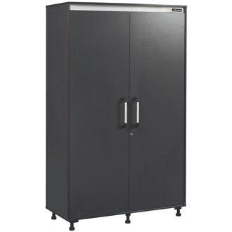Mega Storage Cabinet, Charcoal Stipple