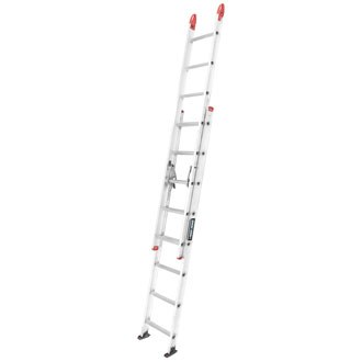 16' Aluminum Extension Ladder 250 lbs.