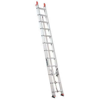 24' Aluminum Extension Ladder 250 lbs.