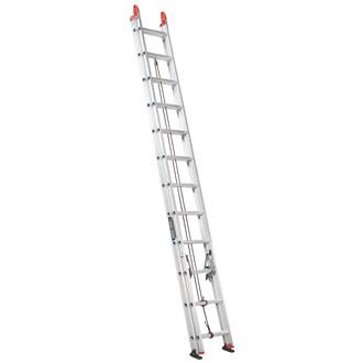24' Aluminum Extension Ladder 250 lbs.