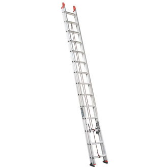 28' Aluminum Extension Ladder 250 lbs.