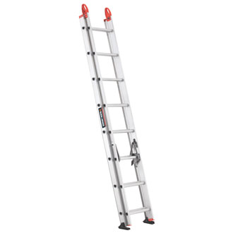 16' Aluminum Extension Ladder 225 lbs.