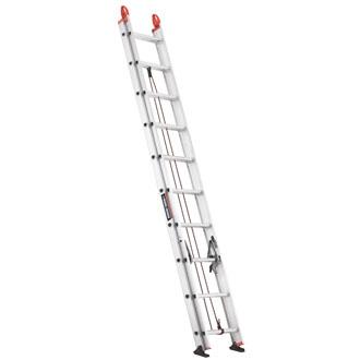 20' Aluminum Extension Ladder 225 lbs.