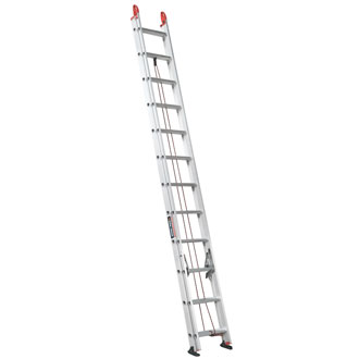 24' Aluminum Extension Ladder 225 lbs.