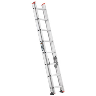 16' Aluminum Extension Ladder 200 lbs.