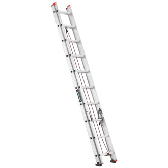 20' Aluminum Extension Ladder 200 lbs.