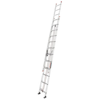 24' Aluminum Extension Ladders 200 lbs.