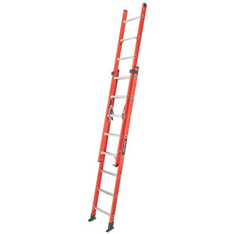 16' Fiberglass Extension Ladder 250 lbs.
