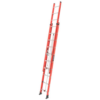 20' Fiberglass Extension Ladder 250 lbs.