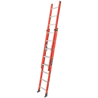 16' Fiberglass Extension Ladder 225 lbs.