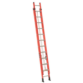 24' Fiberglass Extension Ladder 225 lbs.