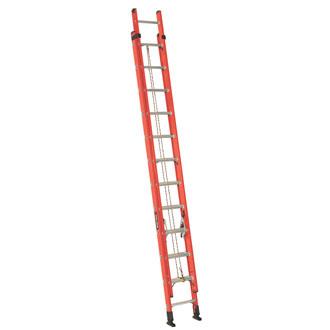 24' Fiberglass Extension Ladder 225 lbs.