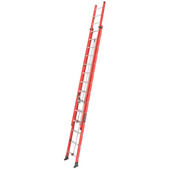 28' Fiberglass Extension Ladder. 225 lbs.