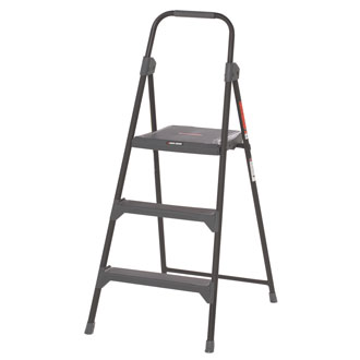 <p>3 Step Steel Step Stool - 225 lbs</p>