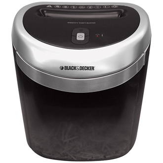 Identity Theft Buster ™ - Junk Mail Shredder (black)