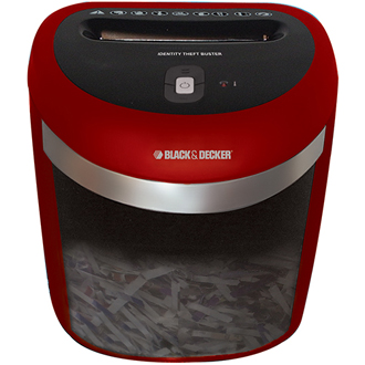 Identity Theft Buster ™ - Junk Mail Shredder (red)
