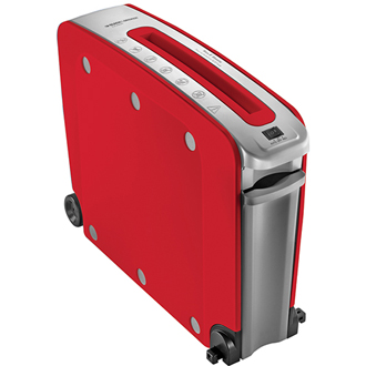 Studio 6 Sheet crosscut shredder (red)