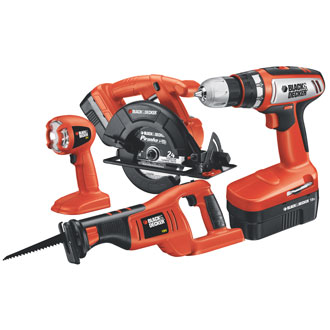 High Performance Cordless 4 Tool Combo Kit