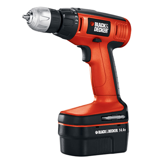 14.4V Cordless Compact Drill with Storage Case