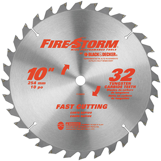 10 32 Tooth Carbide Table Saw / Miter Saw Blade