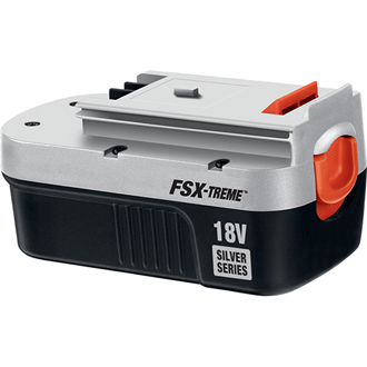 FireStorm® 18V Extended Run Time Battery - Silver Series