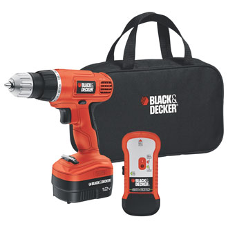 12V Drill/Driver with Stud Sensor and Storage Bag