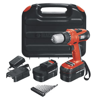 18V High Performance Drill with 10 Accessories