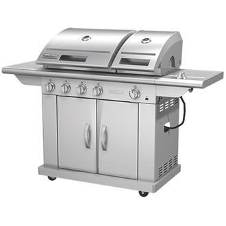 6500 Signature Series 5 Burner Split Lid Gas Grill
