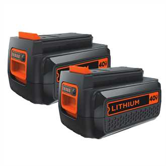 <p>40V Max* Lithium Ion Battery (2-pack)</p>