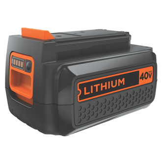 <p>40V Max* Lithium Ion Battery</p>