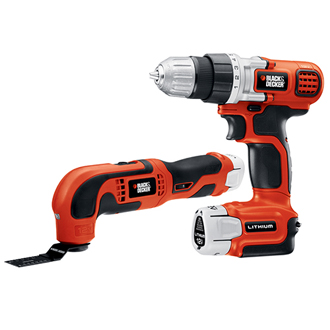 12V Max 2 Tool Lithium Combo Kit - Drill/Driver & Oscillating Multi-Tool