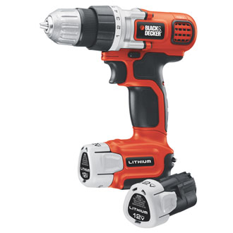 12V MAX* Lithium Drill/Driver with 2 Batteries